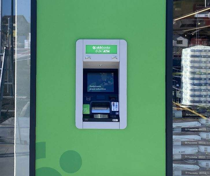 Nova lokacija SKB bankomata v Novem mestu