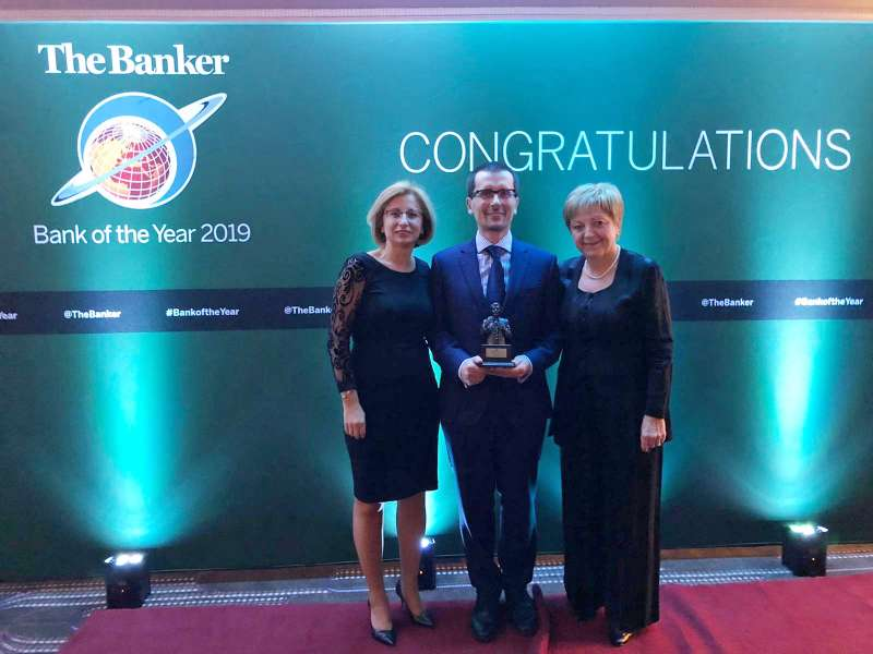 SKB je osvojila priznanje »Banka leta 2019 v Sloveniji«