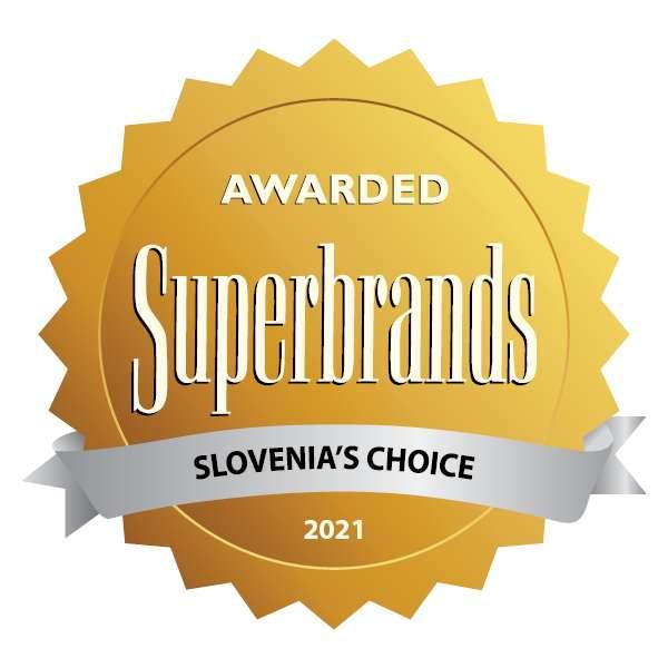 Blagovna znamka SKB prejemnica naziva Superbrands Slovenija 2021