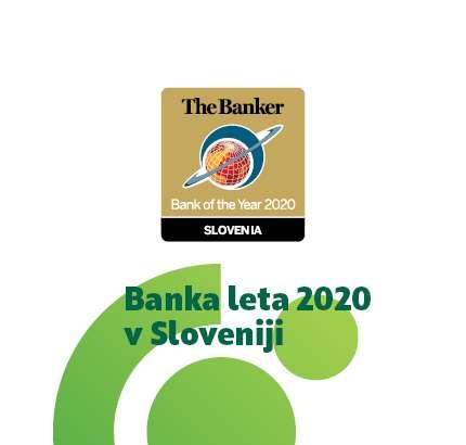 SKB banka osvojila priznanje »Banka leta 2020 v Sloveniji«