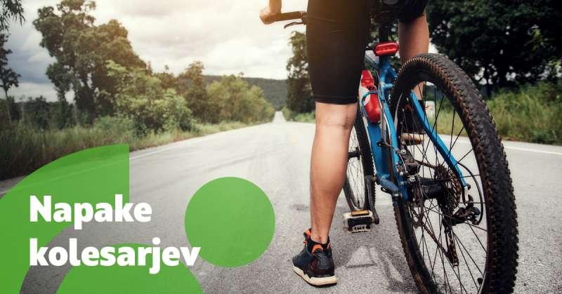 Največje napake kolesarjev začetnikov