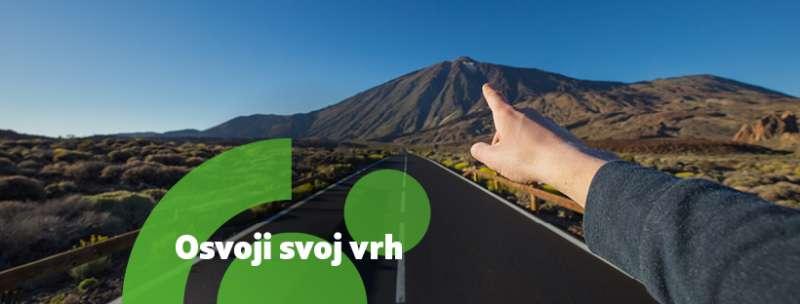 #VZTRAJAM IZZIV: Osvoji svoj vrh!