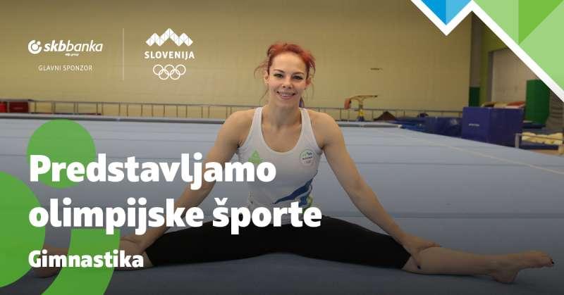 Olimpijska športna panoga: Gimnastika