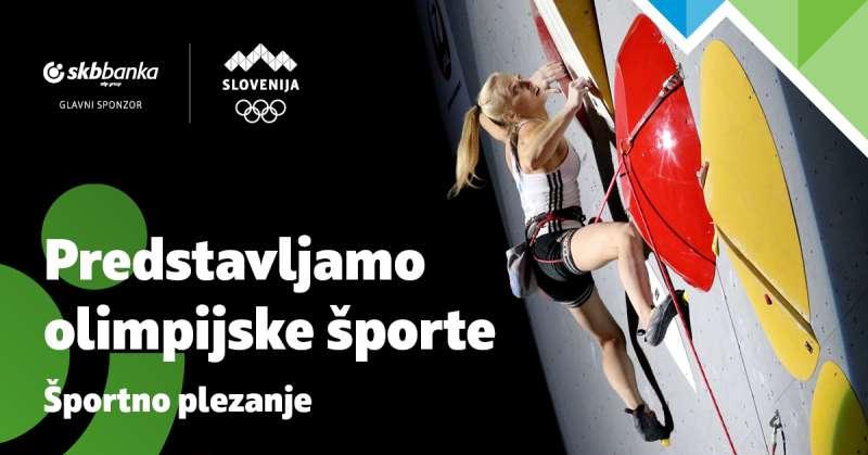 Olimpijska športna panoga: Športno plezanje